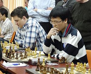 Quang Liêm đang thể hiện một phong độ xuất sắc tại giải Aeroflot Open 2011